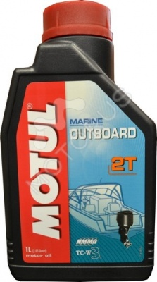 Масло моторное MOTUL 2Т Outboard 1л
